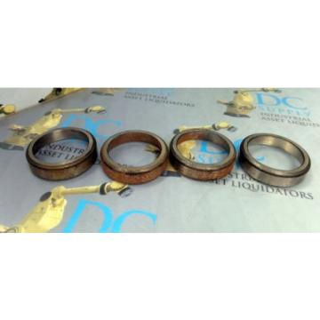 TIMKEN 0820 TAPERED ROLLER BEARING LOT OF 4
