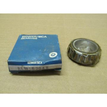 NIB Federal Mogul Bower BCA LM67048 Tapered Roller Bearing LM 67048 Cone SKF NEW