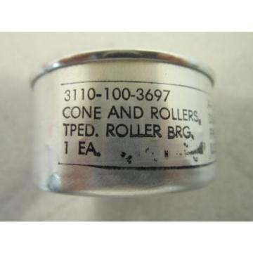 Timken Tapered Roller Bearing Cone and Rollers NSN 3110001003697, Steel, Class 2