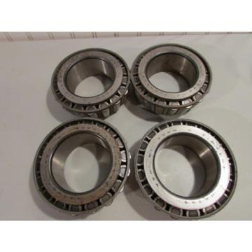Timken NA749 Taper Roller Bearing Lot of 4. Used.