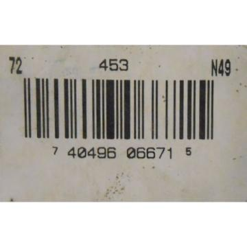 """BOWER TAPERED ROLLER BEARING CUP 453A, 4.2500"""" OD, 0.8750"""" WIDTH"""