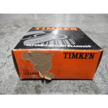 NEW Timken 526 Tapered Roller Bearing Cone
