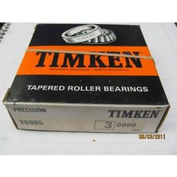 Timken Tapered Roller Bearing 28985 Class 3 Precision