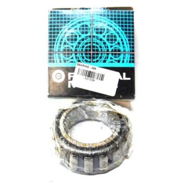 """BOWER, TAPERED ROLLER BEARING, 469, 2.25"""" BORE, 1.15"""" CONE WIDTH"""