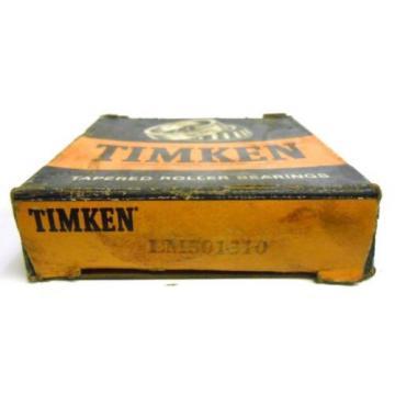 TIMKEN TAPERED ROLLER BEARING, LM501310, NOS