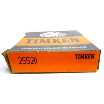 TIMKEN TAPERED ROLLER BEARING, 25520, NOS