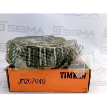 Timken JM207049 Tapered Roller Bearing  New
