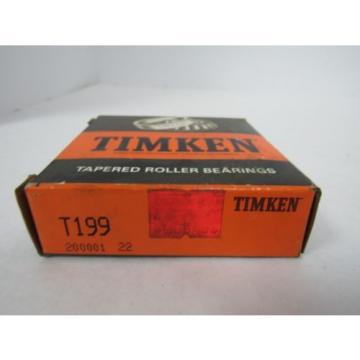 TIMKEN TAPERED ROLLER BEARING T199