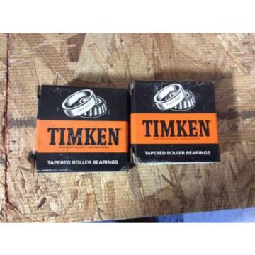 2-Timken tapered roller bearing,  NOS, #07196 3, free shipping, 30 day warranty