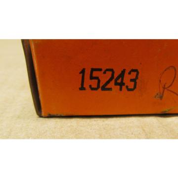 """1 NIB TIMKEN 15243 TAPERED ROLLER BEARING CUP, OD: 2-7/16""""  Cup Width: 9/16"""""""