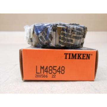 1 NIB TIMKEN LM48548 TAPERED ROLLER BEARING CUP