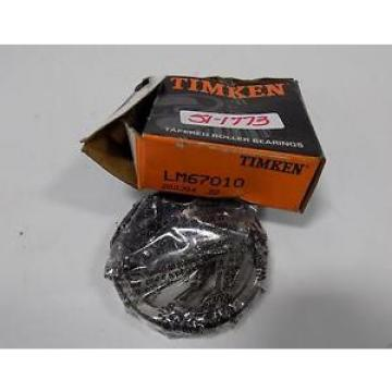 TIMKEN TAPERED ROLLER BEARING CUP LM67010 NIB