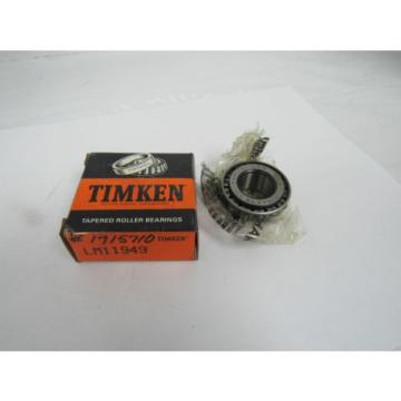 TIMKEN TAPERED ROLLER BEARING LM11949
