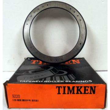 1 NEW TIMKEN 9220 TAPERED ROLLER BEARING CUP RACE ***MAKE OFFER***