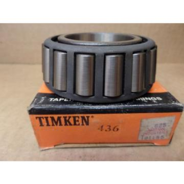 NEW TIMKEN 436 TAPERED ROLLER BEARING