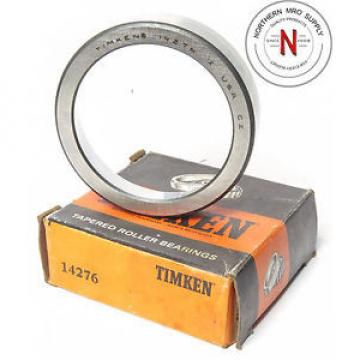 """Timken 14276 Tapered Roller Bearing CUP, OD: 2-23/32"""", CUP WIDTH: 5/8"""""""