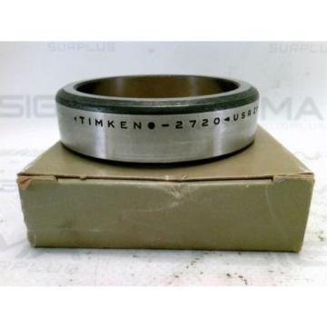 New! Timken 2720 Tapered Roller Bearing Cup