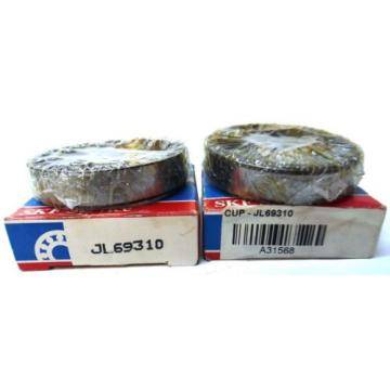 SKF, TAPERED ROLLER BEARING RACE, JL69310, LOT OF 2