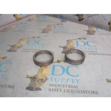 TIMKEN 15245 TAPERED ROLLER BEARING CUP LOT OF 2 NEW
