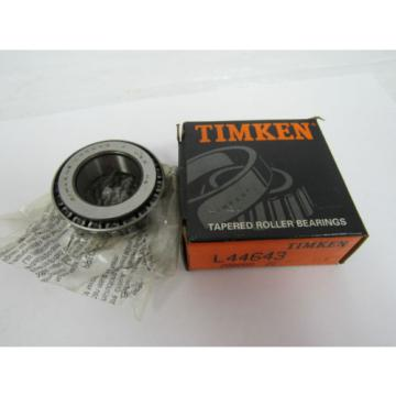 TIMKEN TAPERED ROLLER BEARING L44643