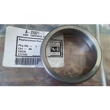 25821 Tapered Roller Bearing Cup