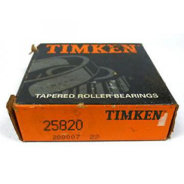Timken 25820 Tapered Roller Bearing Outer Race Cup