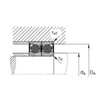 Belt Bearing FAG  M278749D/M278710/M278710D  Spindellager - HCB71901-C-2RSD-T-P4S