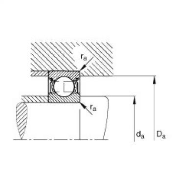 Roller Bearing FAG  840TQO1170-1  Rillenkugellager - 602-2Z