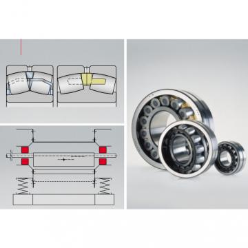 Shaker screen bearing  249/1000-B-K30-MB
