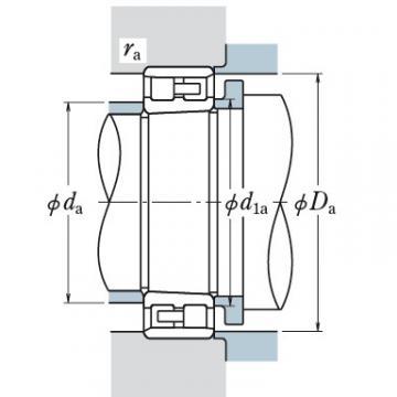 Two Row Cylindrical Bearings  NNU3038