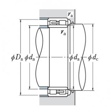 Two Row Cylindrical Bearings  NNU3072