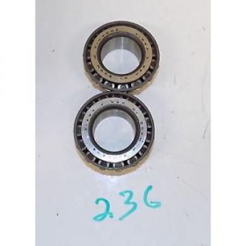 NOS (2) 31597 GENUINE TIMKEN TAPER ROLLER BEARING S