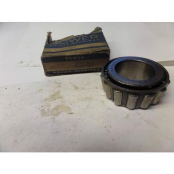 Bower Tapered Roller Bearing Cone 2581 New