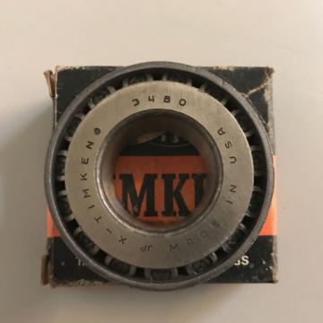 "NIB Timken 3480 Tapered Roller Bearing Cone 1.378"" Bore"