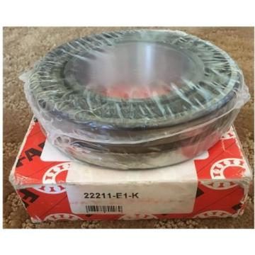 FAG 22211E1K Spherical Roller Bearing Tapered Bore, Steel Cage, Normal Clearance