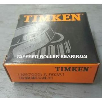 Timken LM67000LA902A1 Tapered roller bearings...NEW