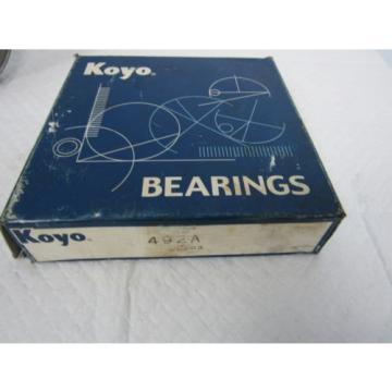 KOYO TAPERED ROLLER BEARING 492A