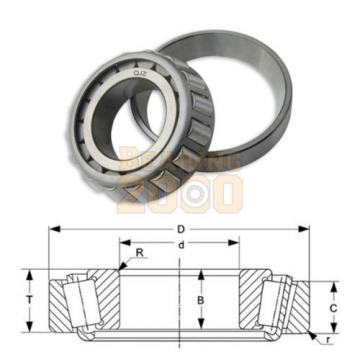 1x 33889-33821 Tapered Roller Bearing Bearing 2000 New Free Shipping Cup & Cone