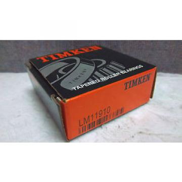 TIMKEN TAPERED ROLLER BEARING LM11910 NEW LM11910