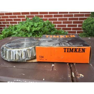 594 TIMKEN New Taper, Old Stock, Tapered Roller Bearing, Semi-Truck