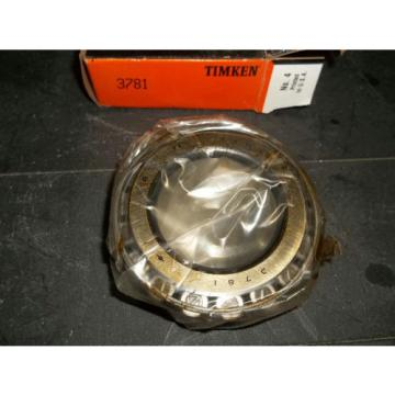 """Timken 3781 Tapered Roller Bearing 2"""" Bore, NEW"""