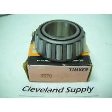 TIMKEN 3578 TAPERED ROLLER BEARING CONE  NEW CONDITION IN BOX
