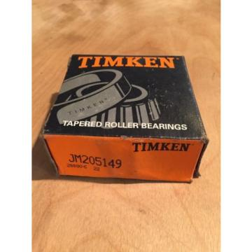 TIMKEN TAPERED ROLLER BEARING, JM205149