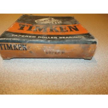 TIMKEN TAPERED ROLLER BEARING 572 CUP