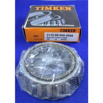 TIMKEN 580 Tapered Roller Bearing