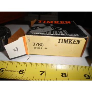 Timken 3780 Tapered Roller Bearing Cone