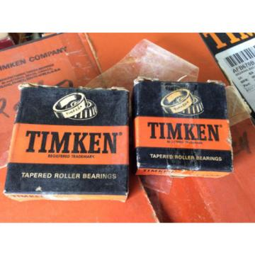 (1) Timken  14117A  and 14276, Tapered Roller Bearings -
