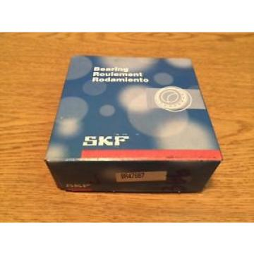 New SKF BR47687 Tapered Roller Bearings
