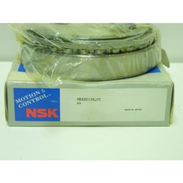 NSK HR32017XJP5 NEW TAPERED ROLLER BEARING HR32017XJP5