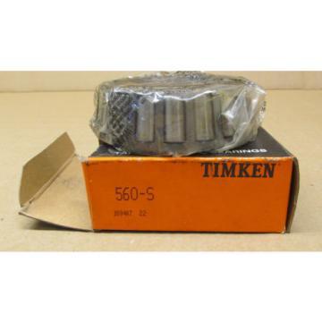 1 NIB TIMKEN 560-S TAPERED ROLLER BEARING CONE